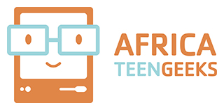 african teen geeks logo